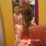 S. at Bibbidy Bobbidy Boutique for her birthday, August 2006