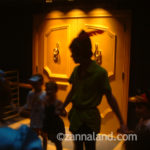Peter and Wendy playing with our kids on the Magic Kingdom Family Magic Tour, 2006