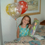balloons & an autographed Tink doll at the Beach Club