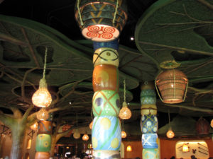 Decor in Sanaa - Can you find the Hidden Mickey?