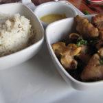 Tandoor Chicken at Sanaa