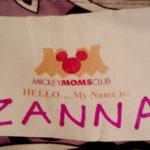 My ZANNA name tag