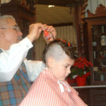 getting red gel in the mohawk
