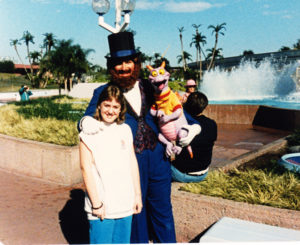 Dreamfinder, Figment & me in 1984