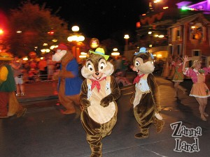 Chip & Dale join in the fun