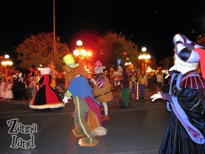Villains storm Main Street-Can you name them all?
