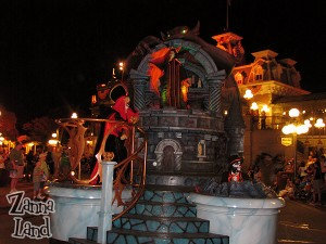 Jafar and Maleficent share the stage