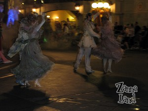I this is a tad blurry, but I thought it made them look like 'real' ghosts!