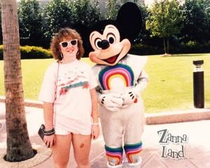 Mickey & Me, rockin' the 80's