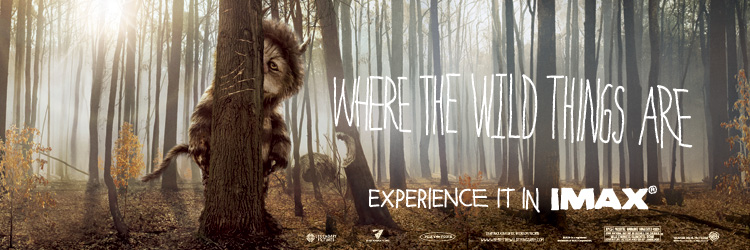 Where the Wild Things Are IMAX Experience-Prize Pack!