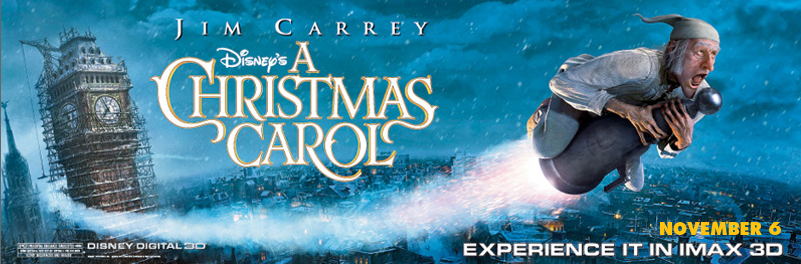 Disney's A Christmas Carol: The IMAX Experience-Twitter Party & Giveaway!