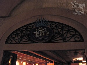 Without a flash, you can see the true ambiance as you enter La Cava