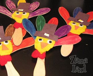 Wooden Spoon Turkeys