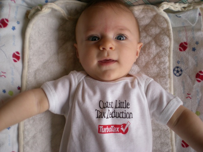 America's Cutest Little Tax Deduction Contest
