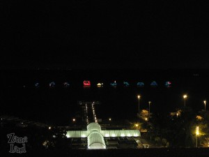 Electrical Water Pageant from my room!