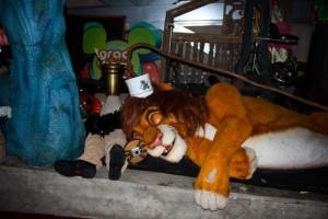 Simba!! Photo courtesy of Disney Mom Kathie F.