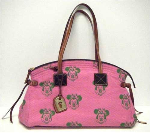 Pink Minnie Mouse Dooney & Bourke bag