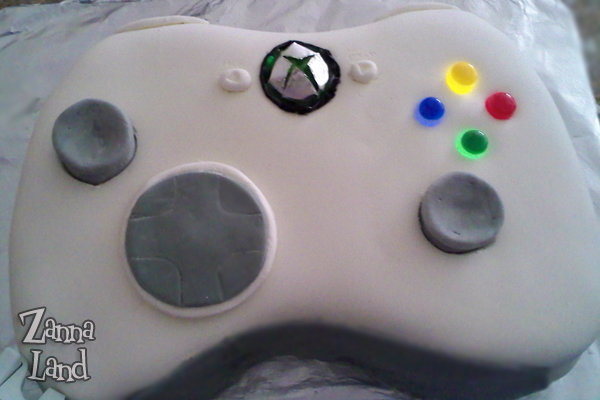 Xbox 360 Controller Cake!