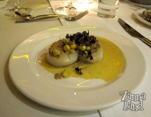 Scallops at The Wave
