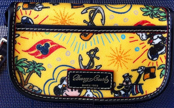 Disney Cruise Line Dooney Bourke wristlet