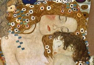 Mother and Child by Gustav Klimt
