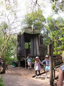 Tom Sawyer Island playground