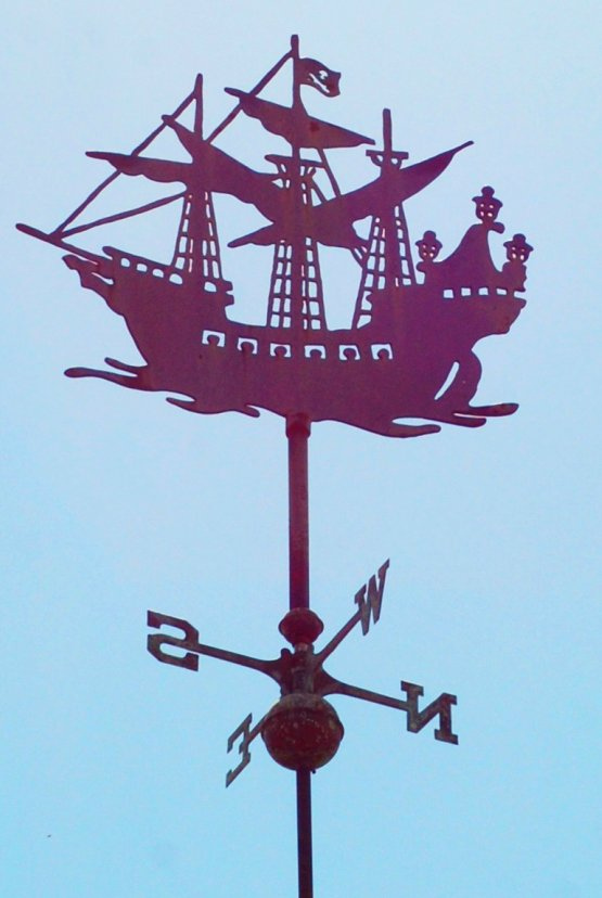 Peter Pan Weather Vane