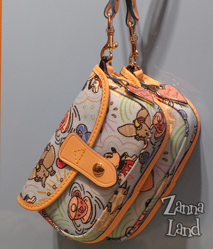 Disney Dooney and Bourke Blue wristlet