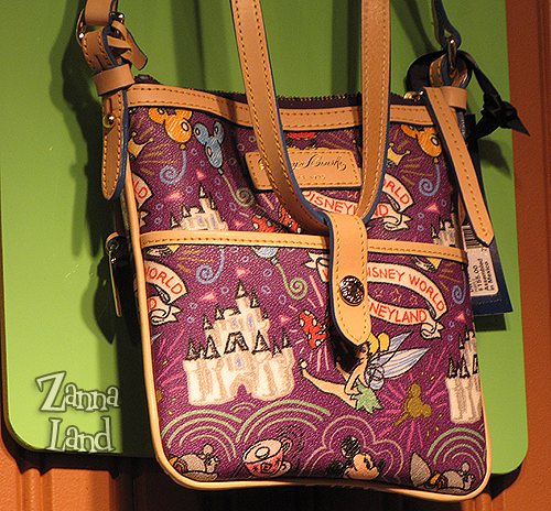 Disney Dooney and Bourke Purple Letter Carrier