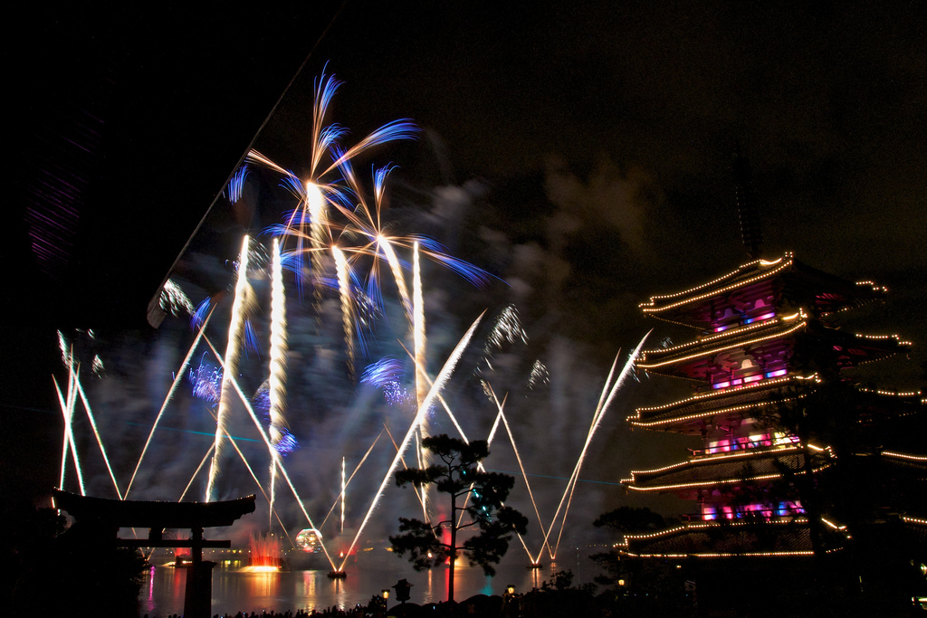 Illuminations in Japan Epcot