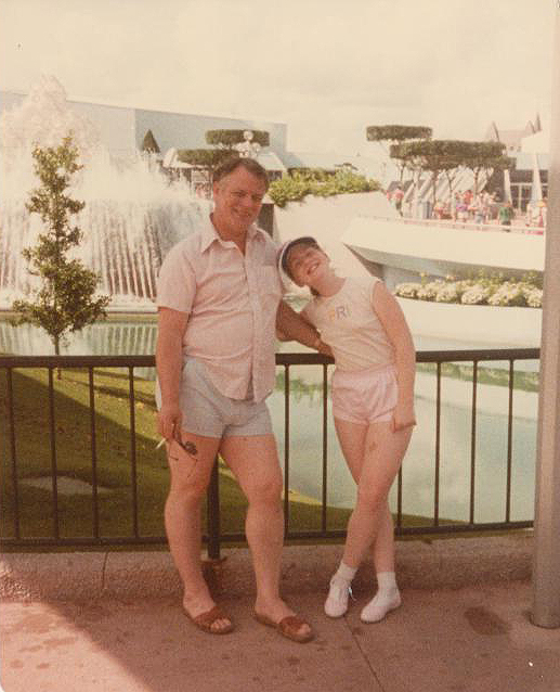 dad and me outside journey into imagination
