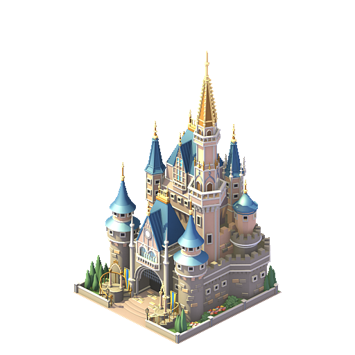 Official Disney Content Available in Facebook's Social City Game