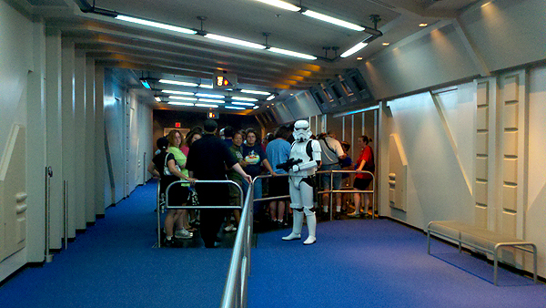 Star Tours Last Flight to Endor