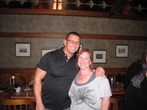 Chef Robert Irvine and Suzannah DiMarzio