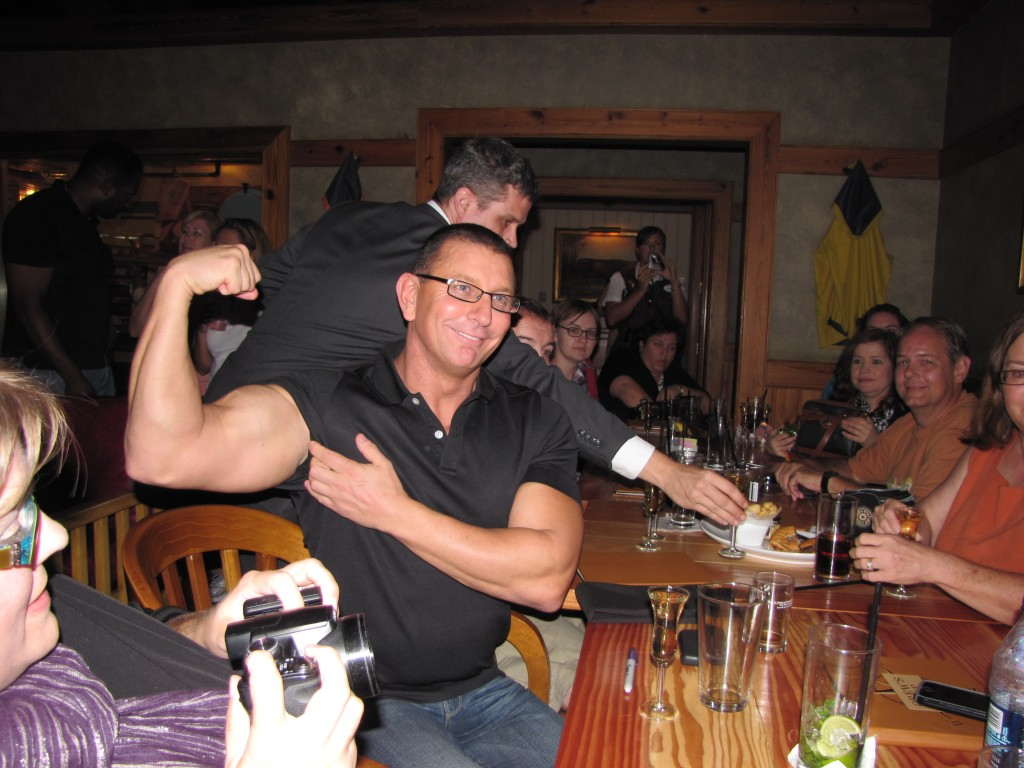 Chef Robert Irvine biceps