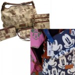 Disney Dooney Brown Mickey Navy Mickey Pink Minnie