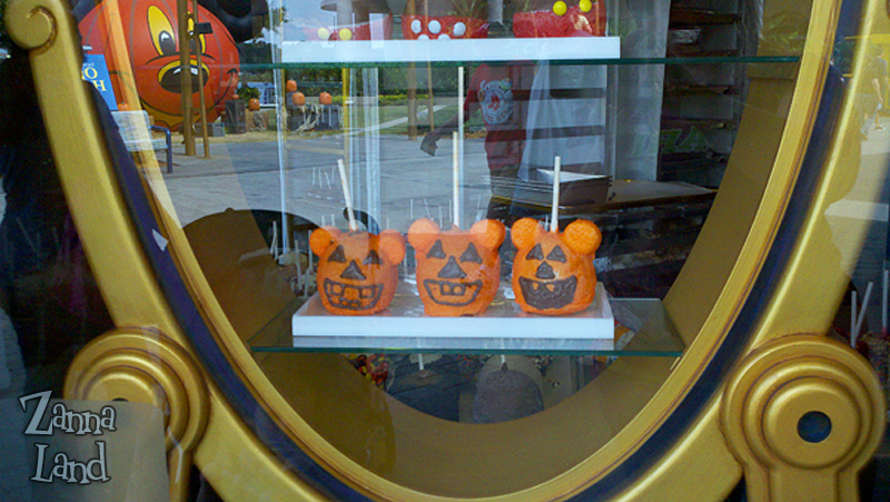 Mickey Pumpkin Apples