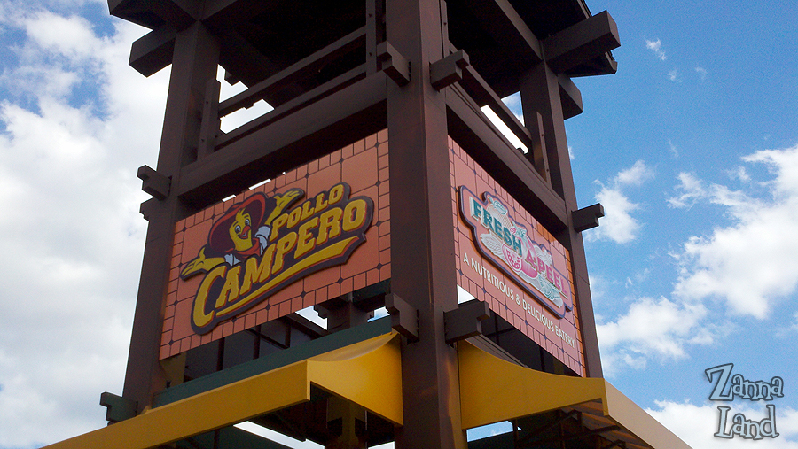 Downtown Disney Restaurants Pollo Campero and Fresh A-Peel Construction Photos