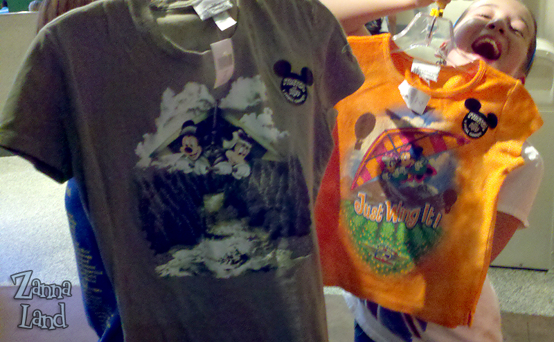 Epcot's Scratch 'N Sniff Soarin' T-shirts Bring the Magical Scents Home!