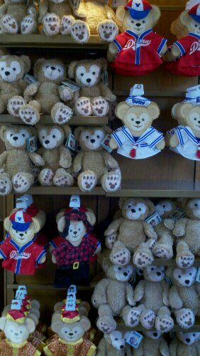 Duffy the Disney Bear Arrives in Epcot-Photo Tour of Everything Duffy
