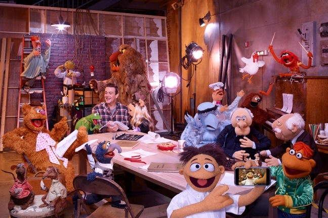 NEW Muppet Movie with Jason Segel First Look Photo!