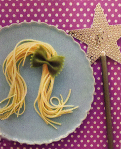 Tangled Rapunzel Princess Pasta