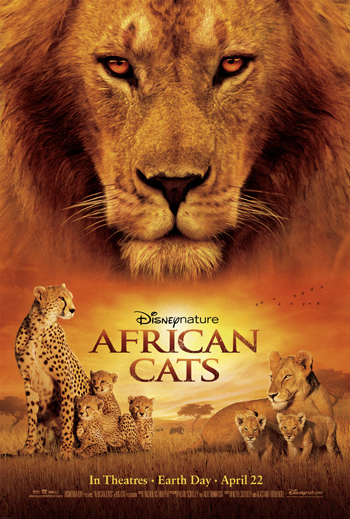 See DisneyNature's African Cats, Save the Savanna