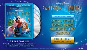 Fantasia DVD Coupon
