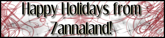 Happy Holidays from ZannaLand