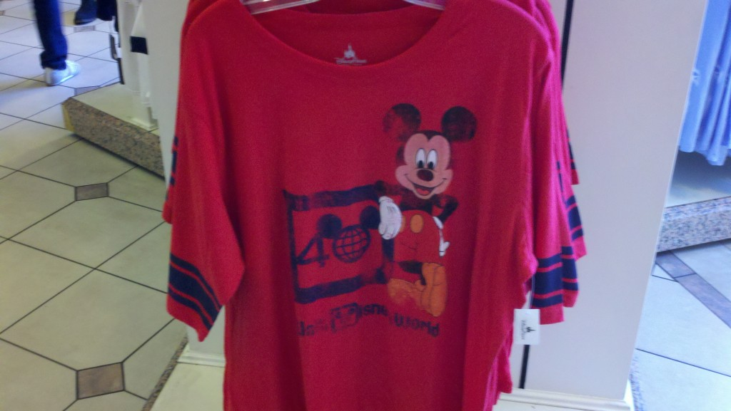 40th Red T-shirt
