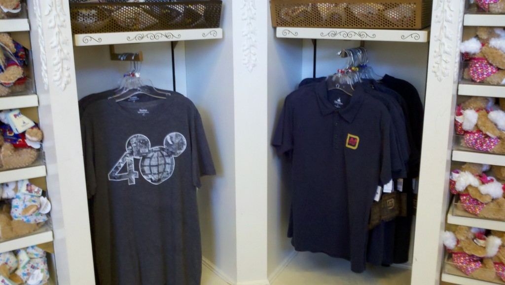 40th Mens t-shirt and polo