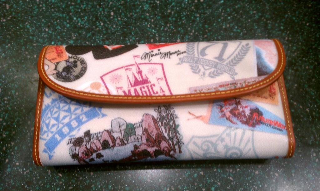 Disney WDW 40th Anniversary Dooney wallet