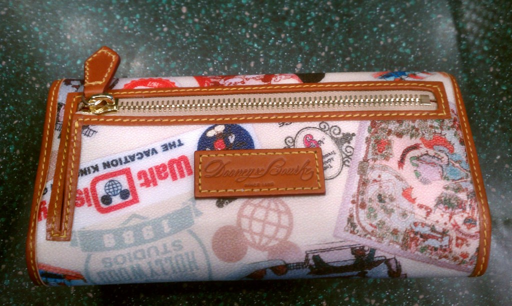 Disney WDW 40th Anniversary Dooney wallet back