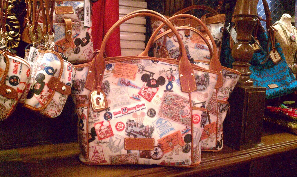 WDW 40th Anniversary Dooney & Bourke medium Kristen tote